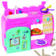 Enchantimals baba kiegészítőkkel - Bree Bunny konyha szett (FRH44-FRH47)