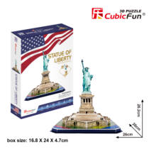 3D puzzle Statue of Lib. (C080)