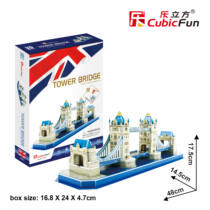 3D puzzle kicsi Tower Bridge (C238)