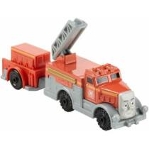 Fiery Flynn Trackmaster mozdony rakománnyal (DFM81)