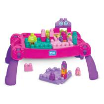 Mega Bloks Lányos építő játékasztal (FFG22)