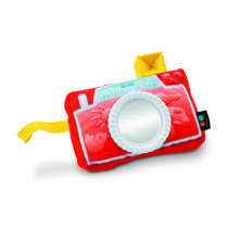 Fisher-Price Tükrös kamera plüss (DFR11) - Utolsó darabok!