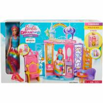 Barbie Dreamtopia kastély babával (FRB15)