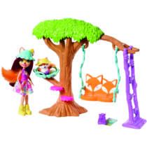 Enchantimals baba kiegészítőkkel - Felicity Fox játék szett (FRH44-FRH45)