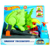 Hot Wheels City Triceratops zúzó pályaszett (GBF97)
