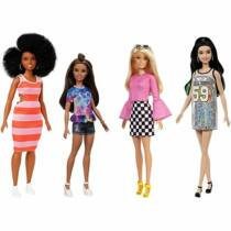 Barbie Fashionista barátnők stílusos divatbabák (4-es csomag) (GBK91)