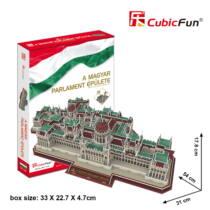 3D puzzle MAgyar PArlament 3242 (MC111) - Utolsó darabok!