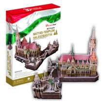 3D puzzle Mátyás-templom,Halászbástya (MC128)