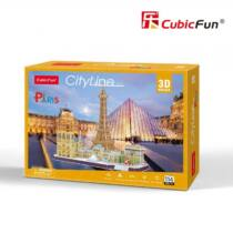 3D puzzle City Line Párizs (MC254)