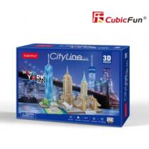 3D puzzele City Line New York (MC255)