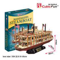 3D puzzle Mississippi Steamboat (T4026) - Utolsó darabok!