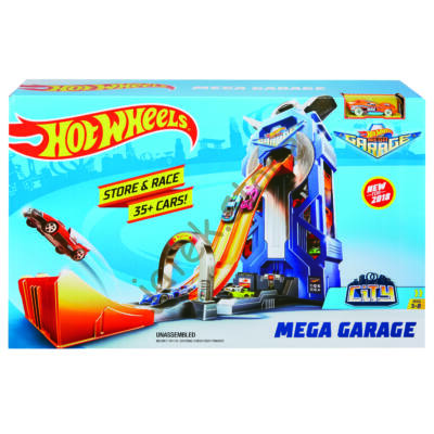 Hot Wheels Mega garázs (FTB68)